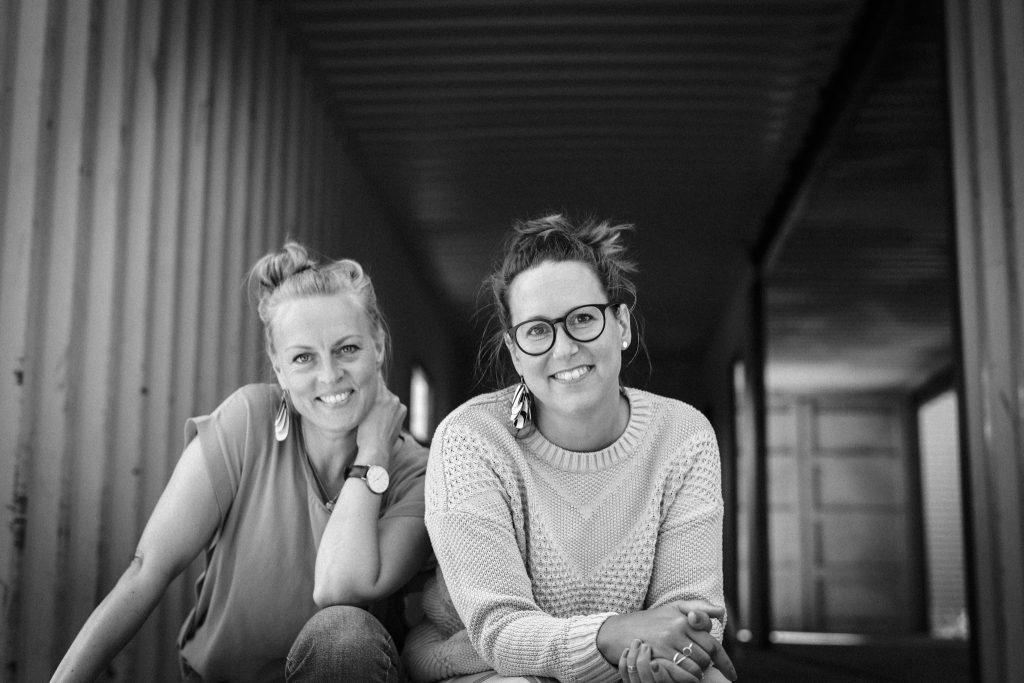 Rebecca Wallin och Frida Jönsson på Fri kommunikation, Österlen AB